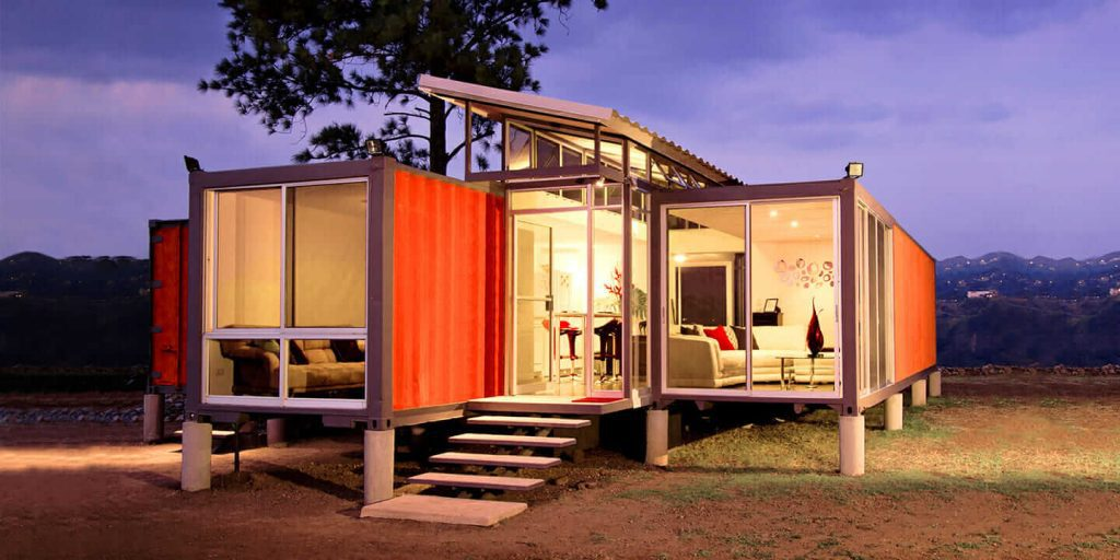 Why Live in a Shipping Container